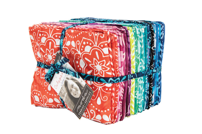 Calypso Batiks - Rainbow Fat Quarter Bundle 34 pc/bundle - By Kate Spain For Moda Fabrics