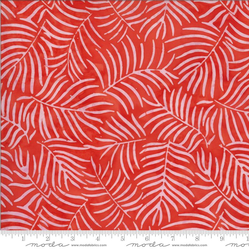 Coral Ferns - Malibu Batiks by Moda