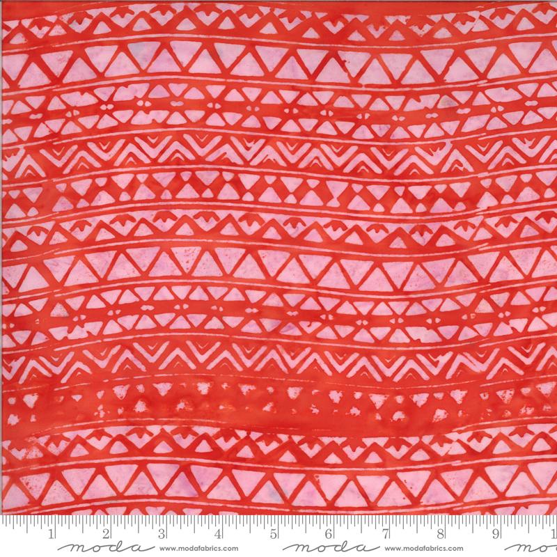 Coral Triangles - Malibu Batiks by Moda