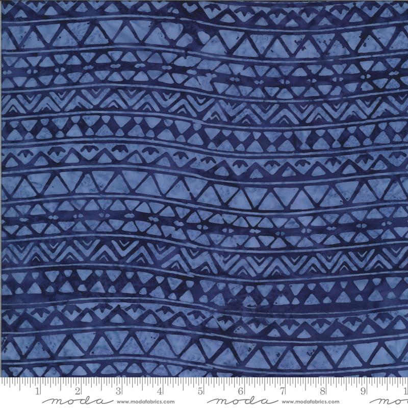 Iris Triangles - Malibu Batiks by Moda