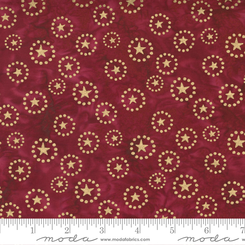 Moda 27311 182M Felicity Metallic Burgundy