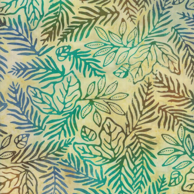 Color Crush Batiks  -Tropical Sand