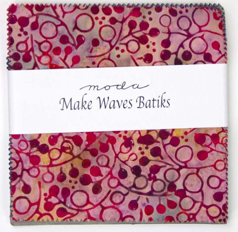 Make Waves Batiks Charm Pack