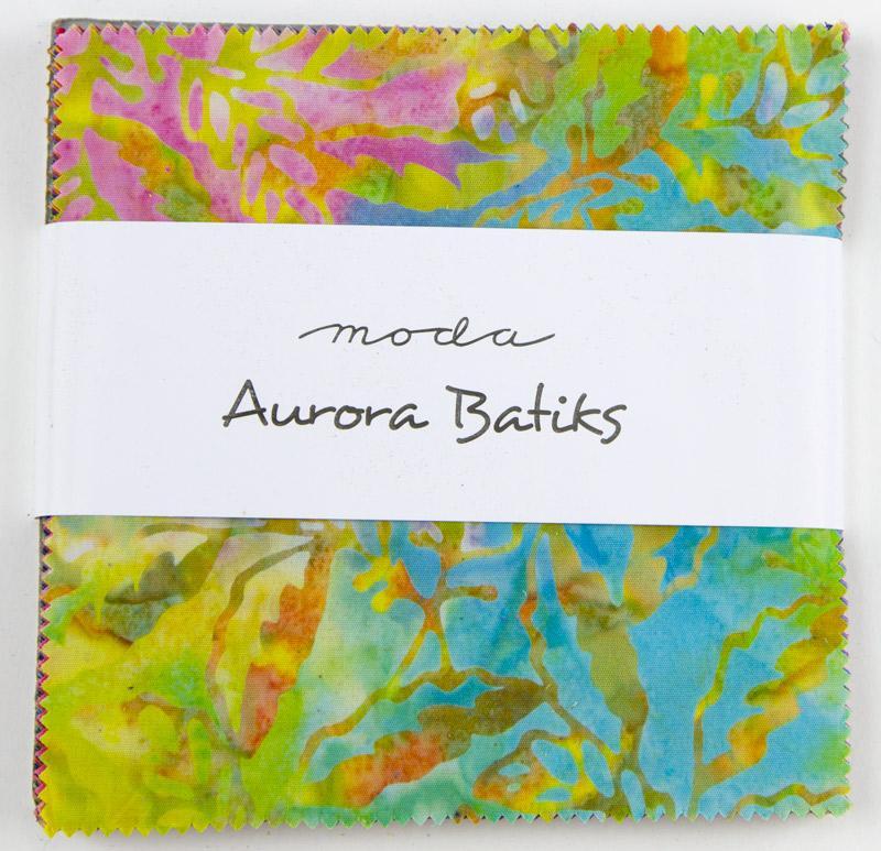 Aurora Batiks Charm Pack