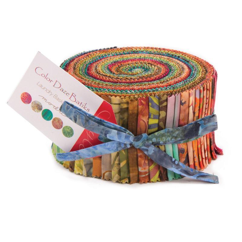 Color Daze Batiks Jelly Roll