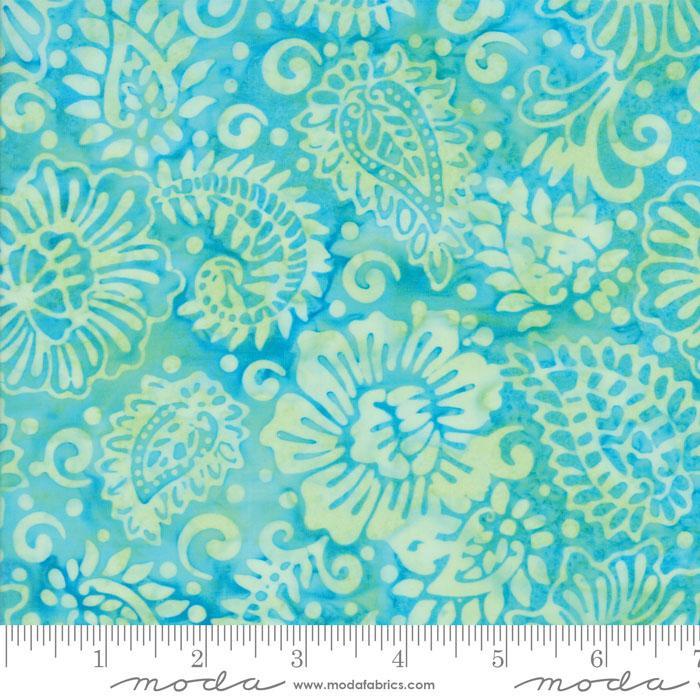 Tiki Batiks Aqua 4343 42