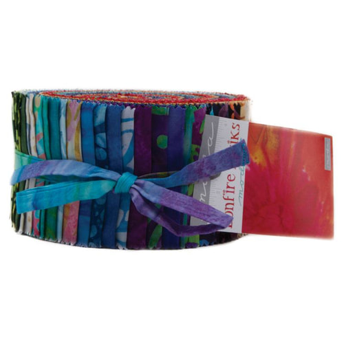 Bonfire Batiks Jelly Roll