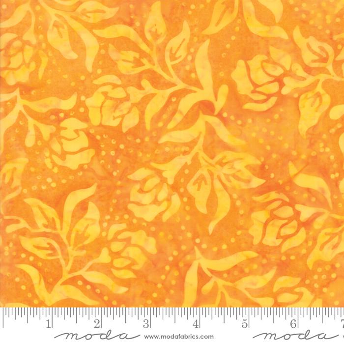 Bahama Batiks - Tangerine 52.22
