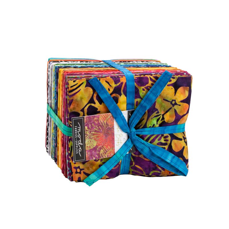Aloha Batiks Fat Quarter Bundle by Moda