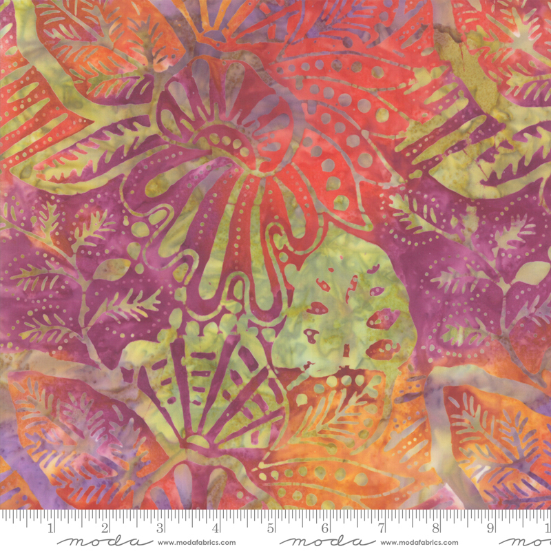 Batik -Aloha Multi leaves