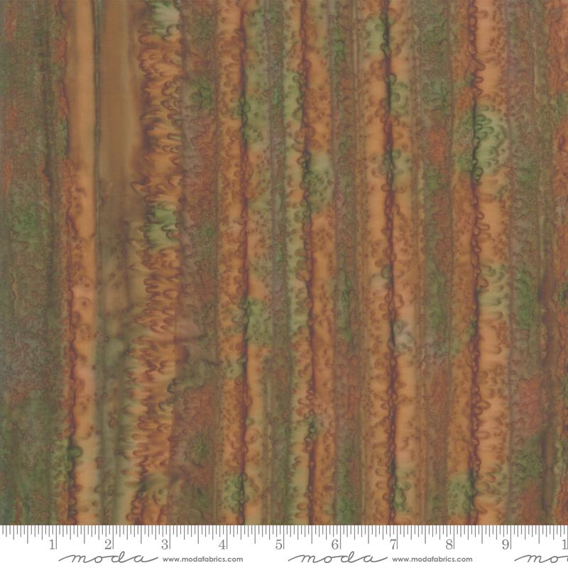 4356 28 - Moda Aloha Batik - Rust