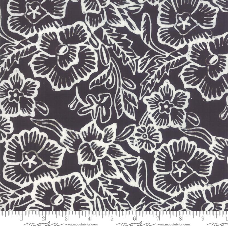 4356 43 - Moda Aloha Batik - Black and White