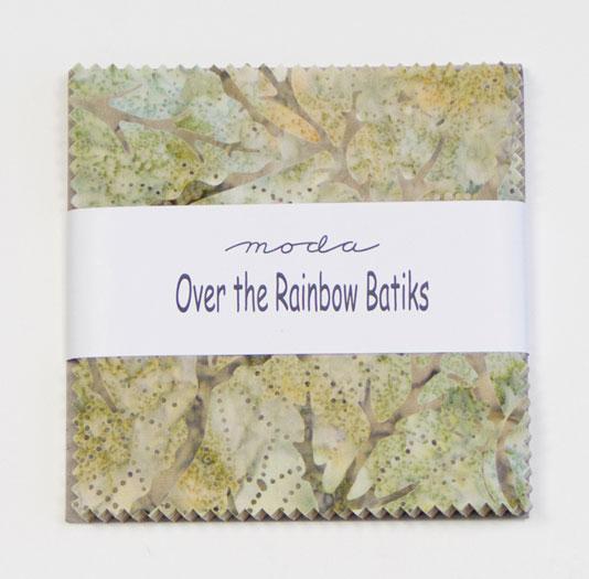 Over The Rainbow Batiks Charm Pack