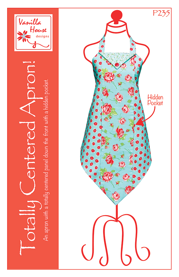 Totally Centered Apron P235 Vanilla House Designs