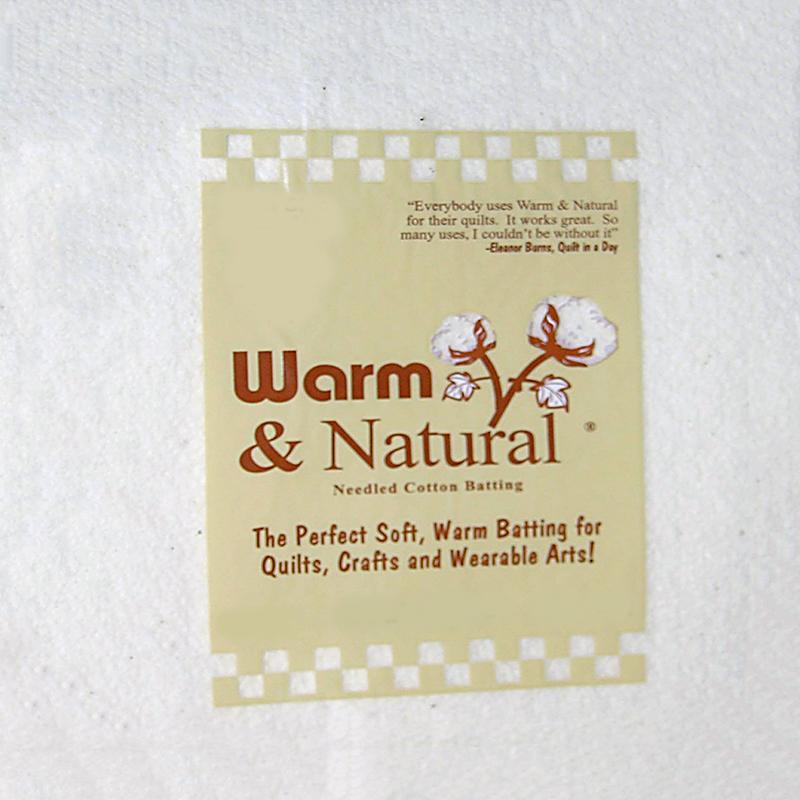 Warm & Natural Batting Craft Size