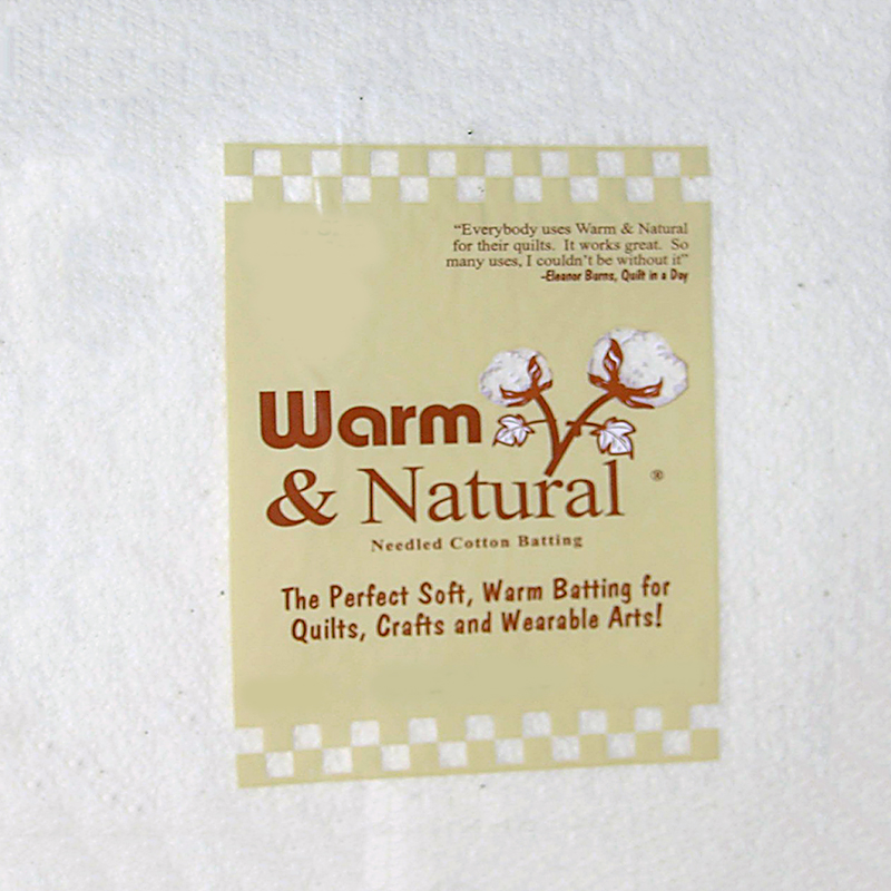 Warm & Natural Batting Twin Size 72 x 90