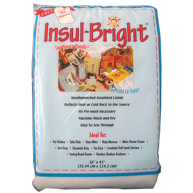 Insul-Bright Batting Insulating Thermal Lining 45 x 36