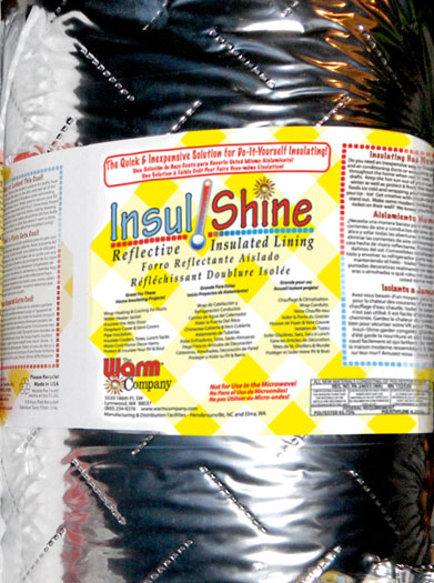 insul shine lining by the yard