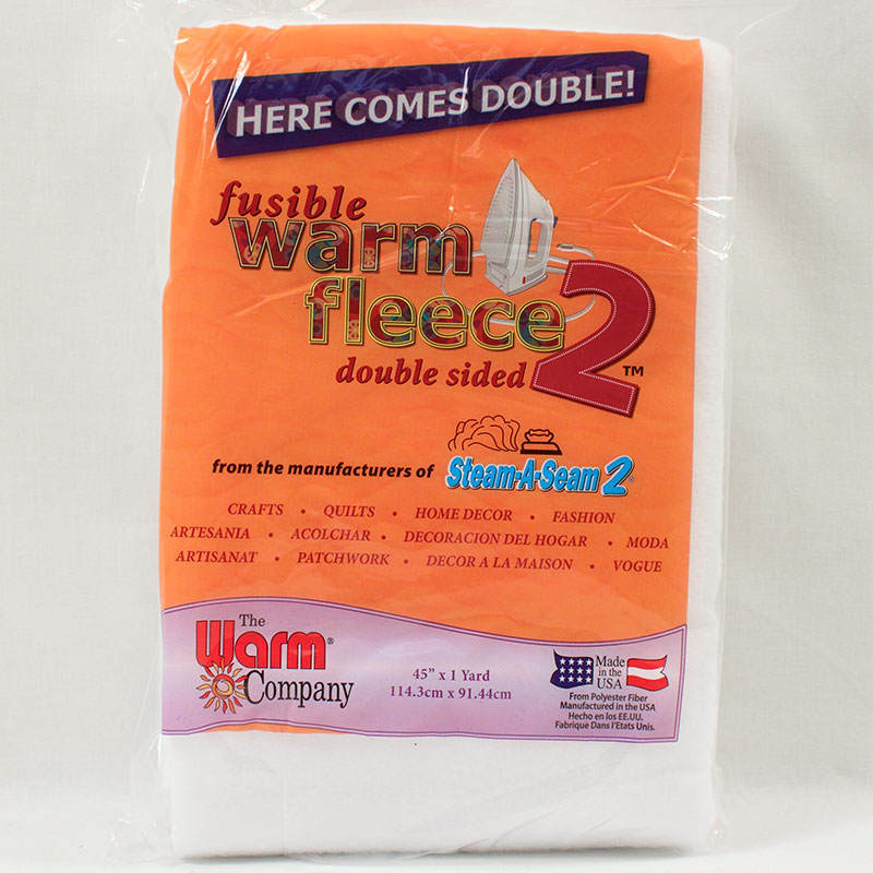 Warm Fleece 2X Fusible 1ydx45