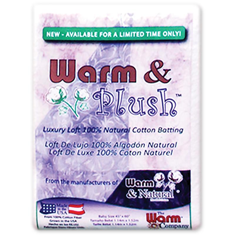 Warm & Plush Batting Crib Sz
