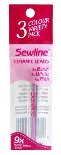 Sewline Variety Lead Refil 3ct FAB50033