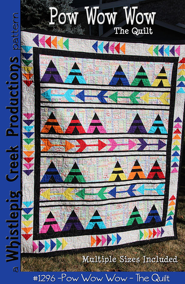 POW WOW WOW QUILT PATTERN WP 1296