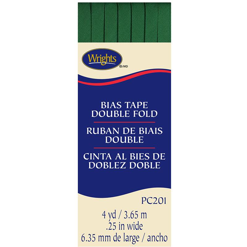 Double Fold Bias Tape Emerald 044