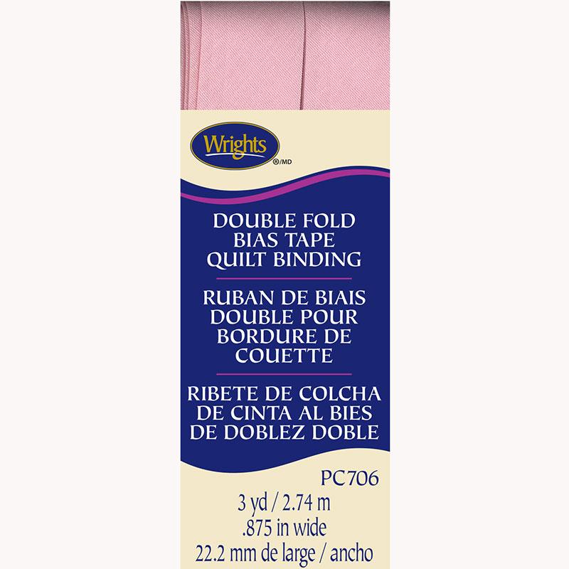 Double Fold Quilt Binding Light Pink - 303