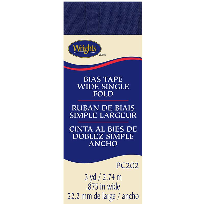 Bias Tape WSF Yale Blue