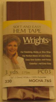 Soft & Easy Hem Tape Mocha