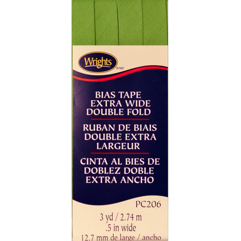 Extra Wide Double Fold Bias Tape Kiwi 1136
