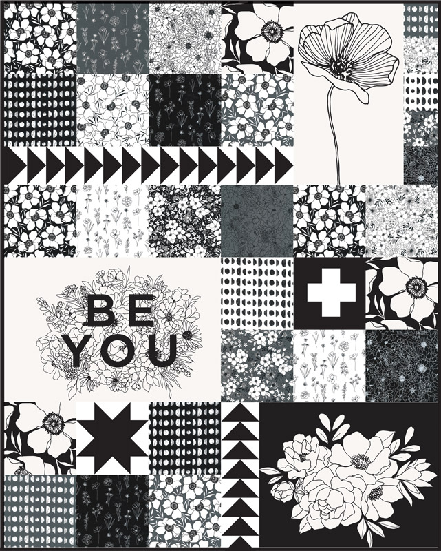 Illustrations Quilt Kit