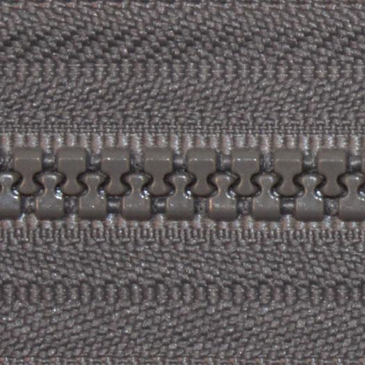 Fastrak Vislon Zipper 24 Grey