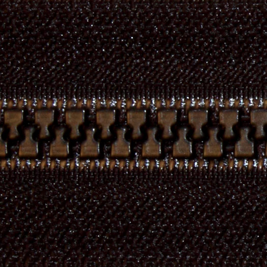 Fastrak Vislon Zipper 30 Black