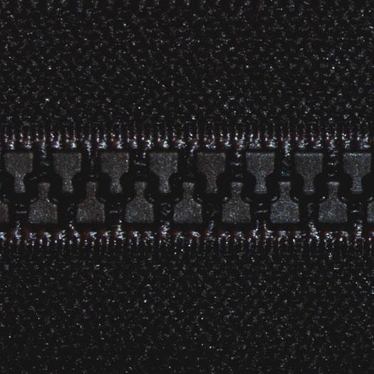 Vislon 2-Way Separating Zipper 30 Black