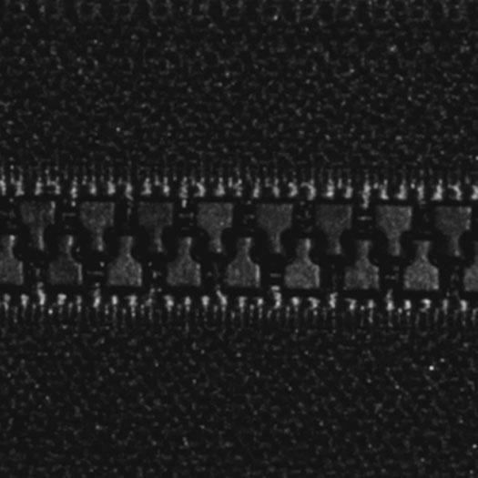 Vislon Reversible Zipper Black