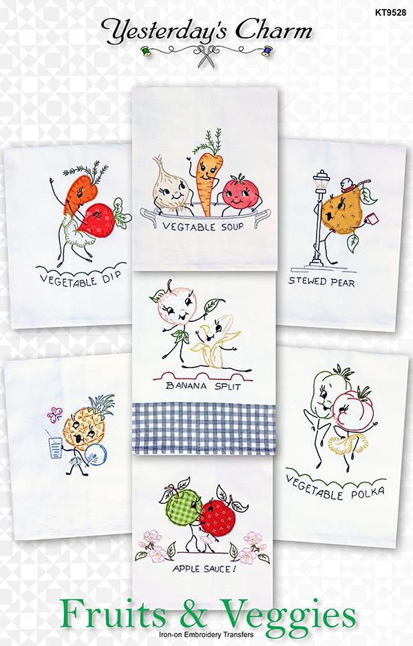 Fruits & Veggies Pattern