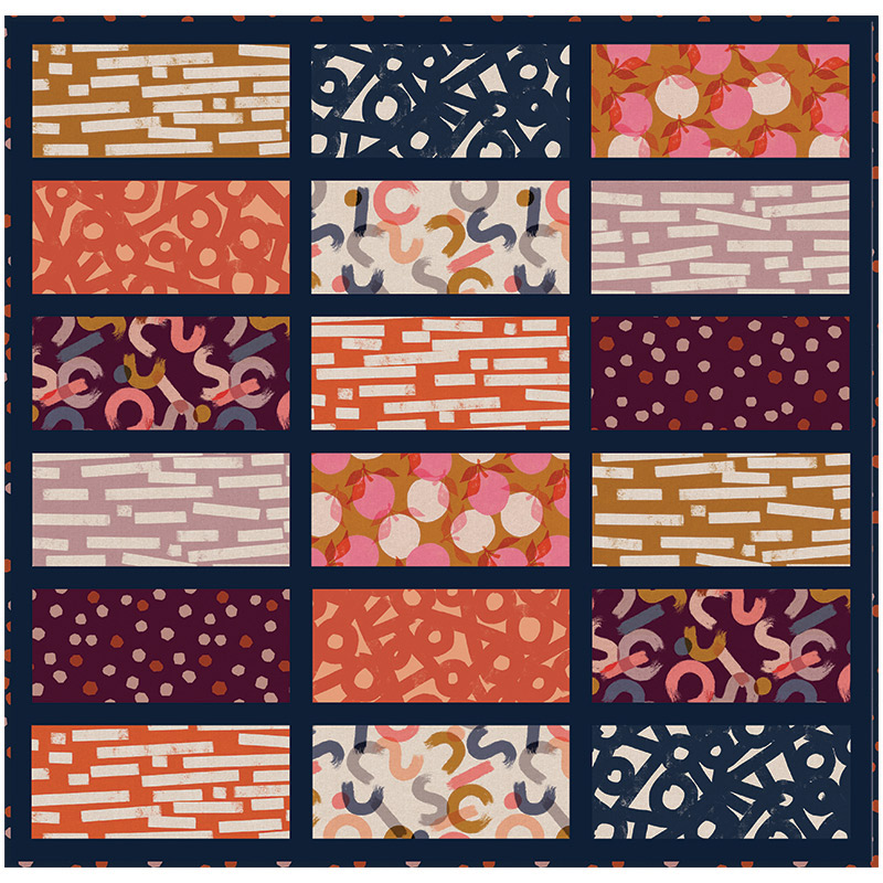Roll Up Picnic Quilt Project Sheet from Ruby Star Society