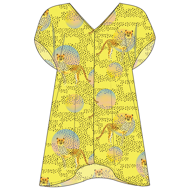 Caftan Cover Up Project Sheet