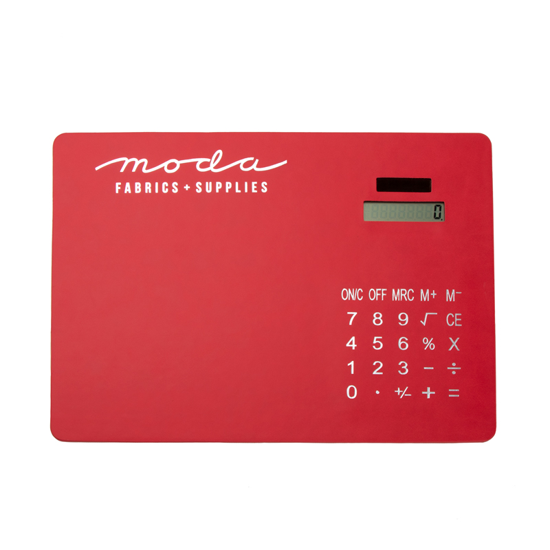 Calculator Mouse Pad Red