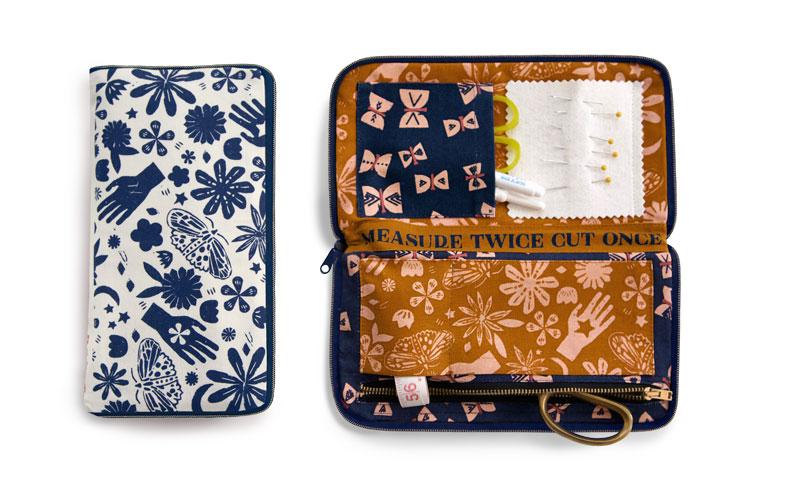 Sewing Wallet Indigo by Ruby Star Society