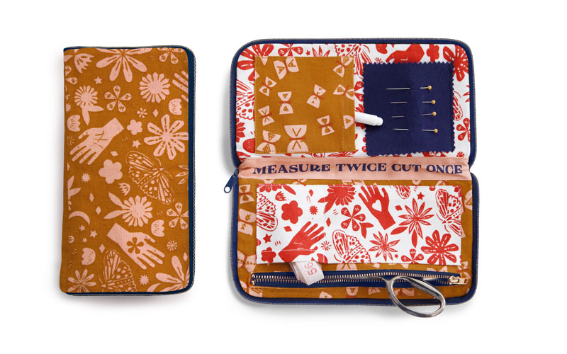 Earth Sewing Wallet RS963 82 Ruby Star Society