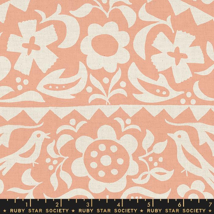 Alma Market Floral Peach RS4001 18