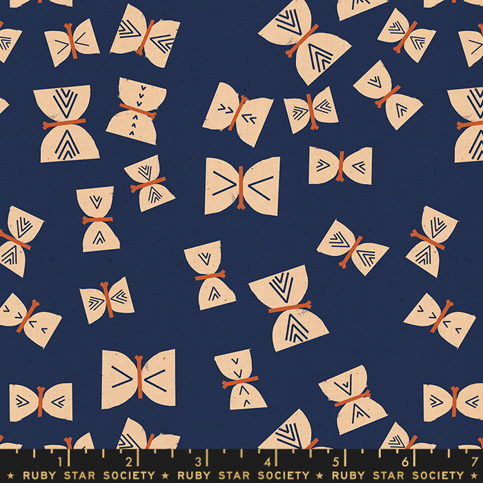 Alma Butterflies Indigo RUBY STAR SOCIETY