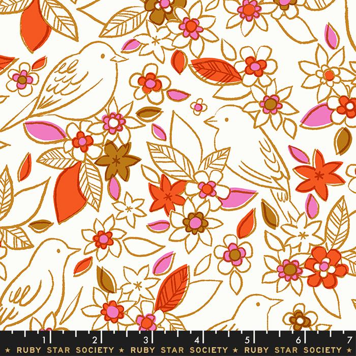 Aviary Botanical RS5001-11 Ivory