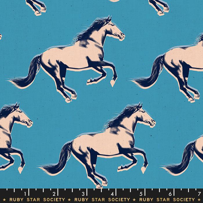Darlings Mustang Vintage Blue RS5013 18