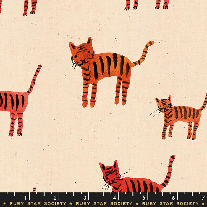Darlings Tiger Stripes Orange RS5021 11
