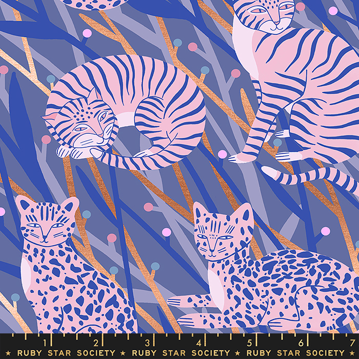 Cat in the Grass Metallic Twilight, Airflow