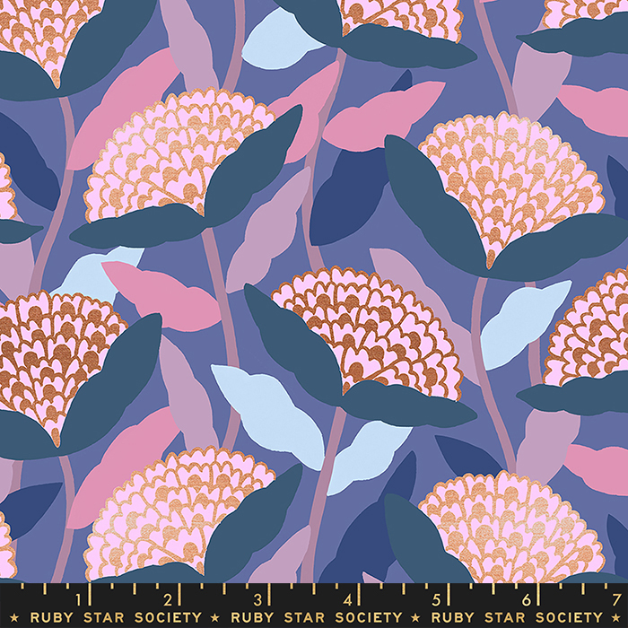 Flower Dreams Metallic Twilight, Airflow