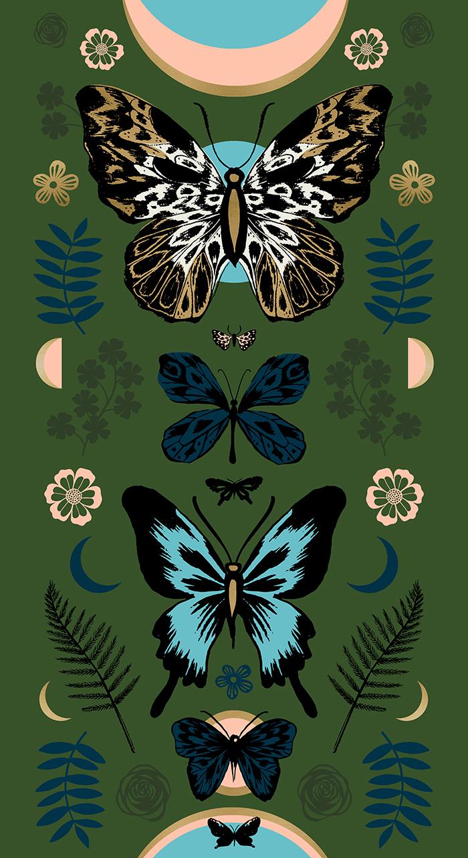 Tiger Fly - Panel - Metallic - Sarah Green - RS2011 13